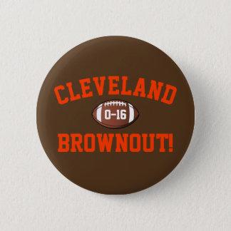 Cleveland-Spannungsabfall! Runder Button 5,1 Cm