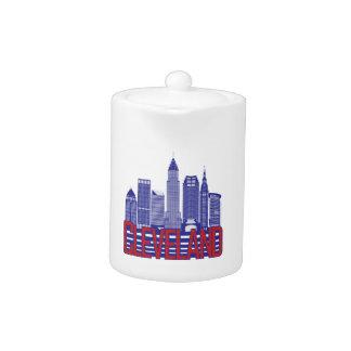 Cleveland-Stadt-Farben