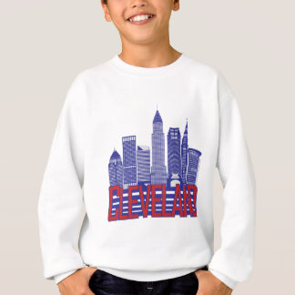 Cleveland-Stadt-Farben Sweatshirt