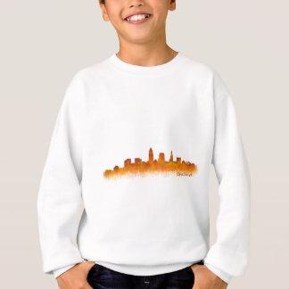 cleveland watercolor City US skyline Sweatshirt