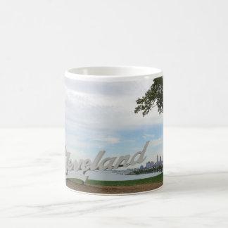 Clevelandskyline-Tasse Kaffeetasse
