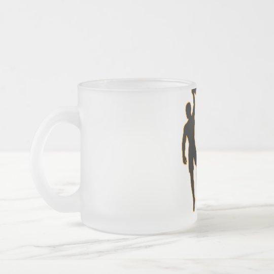 Climbers coffee mug mattglastasse