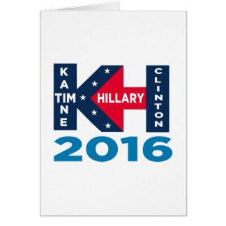 Clinton Kaine 2016 Karte