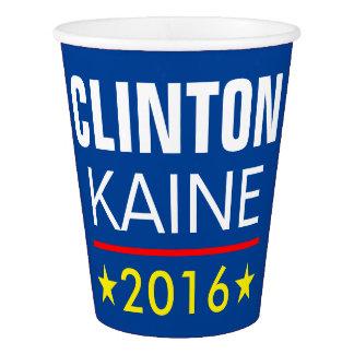 CLINTON KAINE 2016 PAPPBECHER