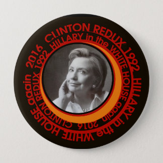 Clinton Redux Runder Button 10,2 Cm