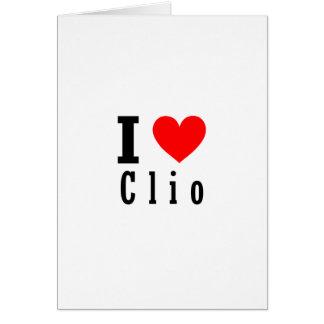 Clio, Alabama-Stadt-Entwurf Karte
