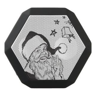 Clipart klassisches Weihnachtsmann Bell Retro Schwarze Bluetooth Lautsprecher