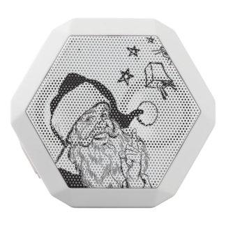 Clipart klassisches Weihnachtsmann Bell Retro Weiße Bluetooth Lautsprecher
