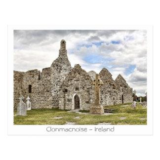 Clonmacnoise - Irland Postkarte