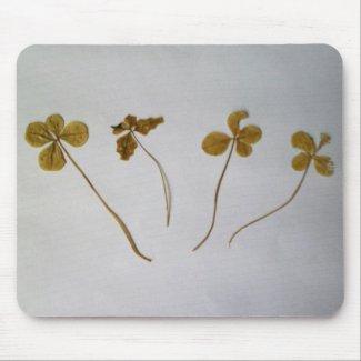 Clovers, Kleeblätter, Mousepad,