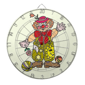 Clown 1 dartscheibe