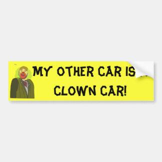 Clown-Auto Autoaufkleber
