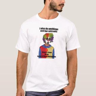 Clown, der 2 Wedding ist T-Shirt