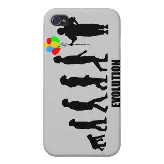 Clown-Evolution Etui Fürs iPhone 4