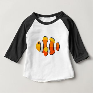 Clown-Fisch-Primitiv-Art Baby T-shirt