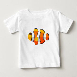 Clown-Fisch-Primitiv-Art Baby T-shirt