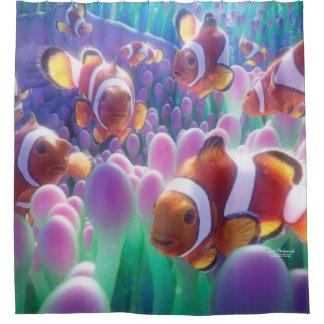 Clown-Fische Nemo Duschvorhang