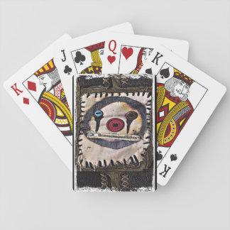 Clown-Flecken Spielkarten