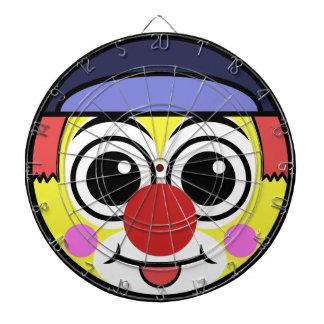 Clown-Gesicht Dartscheibe
