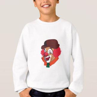 Clown-Gesicht Sweatshirt