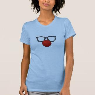 Clown-Gläser und Nase T-Shirt