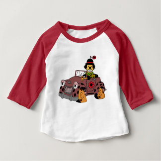 Clown im Auto Baby T-shirt
