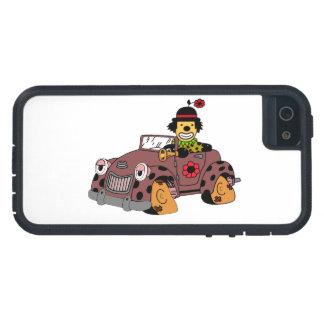 Clown im Auto iPhone 5 Etuis