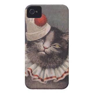 Clown-Katze iPhone 4 Case-Mate Hüllen