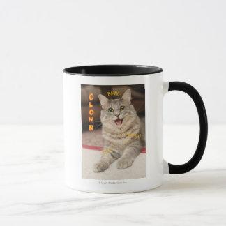 Clown-Katze Tasse