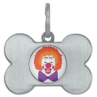 Clown-Kopf Tiermarke