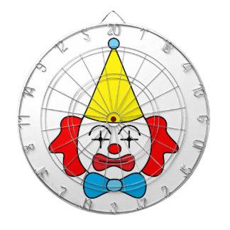 Clown - lustiges Gesicht Dartscheibe