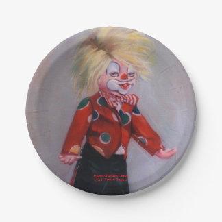 Clown/Pallaso/Clown Pappteller