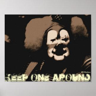 Clown-Plakat Poster