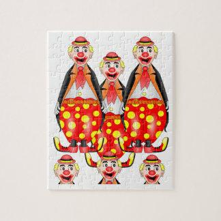 Clown-Puzzle Puzzle