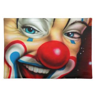 Clown Stofftischset