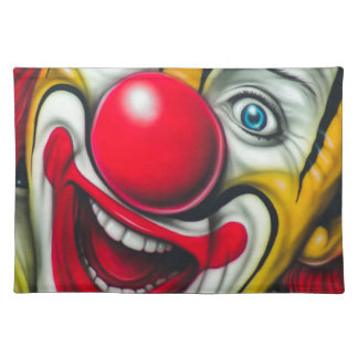 Clown Tischset