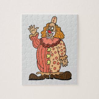 Clown-Wellenartig bewegen Puzzle