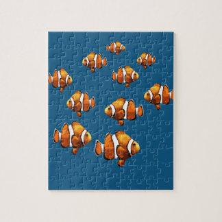 Clownfische Puzzle