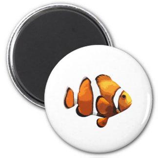 Clownfische Runder Magnet 5,7 Cm