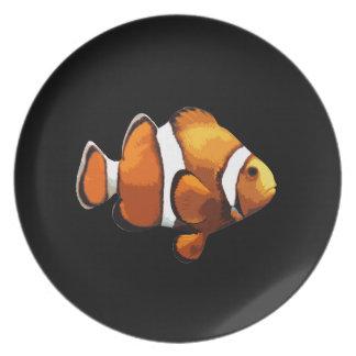 Clownfische Teller