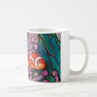 """Clownfish Seeanemonen-""""Buntglas"""" Entwurf! Kaffeetasse"""