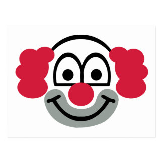Clowngesicht Postkarten | Zazzle.de
