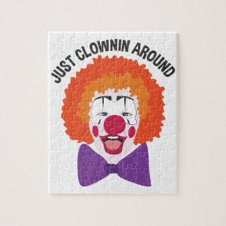 Clownin herum puzzle