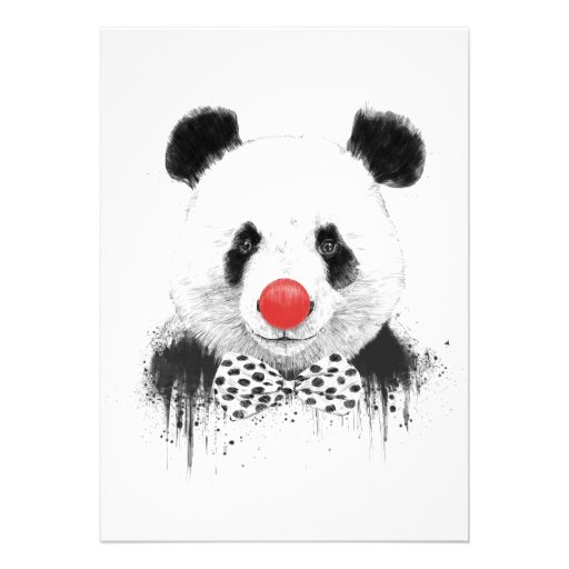 Clownpanda Individuelle Ankündigung