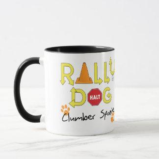 Clumber Spaniel-Kundgebungs-Hund Tasse