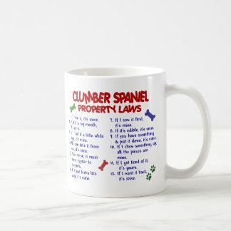 CLUMBER SPANIEL PL2 KAFFEETASSE