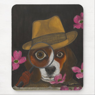 Cluny Jones, der Beagle Mousepad