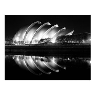 Clyde-Auditorium in Glasgow Postkarte