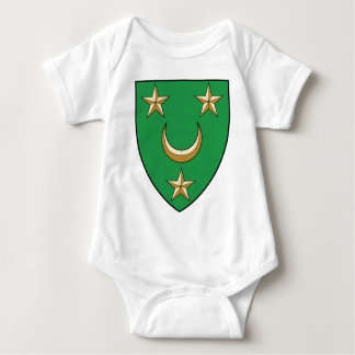 Coa_Algeria_Country_History_ (1830-1962) Baby Strampler