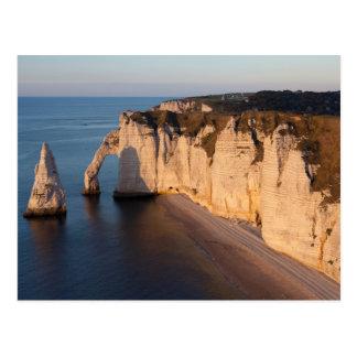 Coast of Etretat, Normandy, France, Postkarte